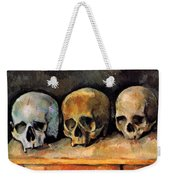 Still Life, Three Skulls Weekender Tote Bag