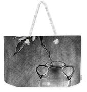 Still Life - Vase With One Sunflower Weekender Tote Bag