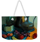 Still Life With A Cactus Weekender Tote Bag