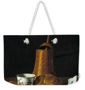 Still Life With A Chocolate Service Weekender Tote Bag