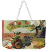 Still Life With A Fan Weekender Tote Bag