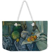 Still Life With A Ginger Jar And Eggplants Weekender Tote Bag