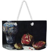 Still Life With A Pomegranate Weekender Tote Bag