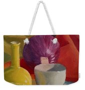 Still Life With An Onion Weekender Tote Bag