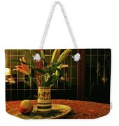 Still Life With Apple Weekender Tote Bag