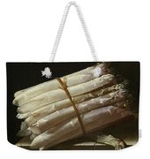 Still Life With Asparagus Weekender Tote Bag