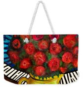Still Life With Baby Grand Weekender Tote Bag
