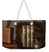 Still Life With Books Weekender Tote Bag