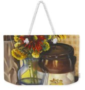 Still Life With Brown Paper Sack Weekender Tote Bag