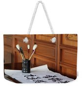 Still Life With Brushes Weekender Tote Bag