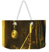 Still Life With Candle Weekender Tote Bag