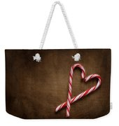 Still Life With Candy Canes Weekender Tote Bag