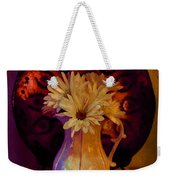 Still Life With Daisies And Grapes - Oil Painting Edition Weekender Tote Bag