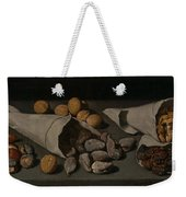 Still Life With Dried Fruit Weekender Tote Bag