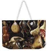 Still Life With Game Weekender Tote Bag