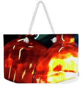 Still Life With Glass Vases. Weekender Tote Bag