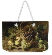 Still-life With Grapes And Pears Weekender Tote Bag