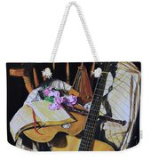 Still Life With Guitar Weekender Tote Bag