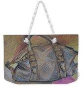 Still Life With Handbag And Notepad Weekender Tote Bag