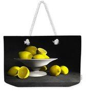 Still Life With Lemons Weekender Tote Bag