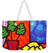 Still Life With Matisse And Mona Lisa Weekender Tote Bag