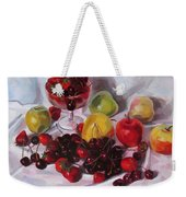 Still Life With Merry  Weekender Tote Bag