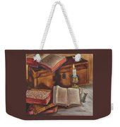 Still Life With Old Books Weekender Tote Bag