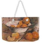 Still Life With Oranges Weekender Tote Bag