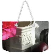 Still Life With Plums Weekender Tote Bag