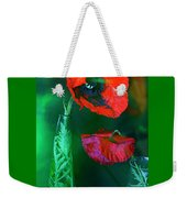 Still Life With Poppies. Weekender Tote Bag