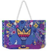 Still Life With Rabbit Weekender Tote Bag