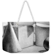 Still Life With Shapes Weekender Tote Bag