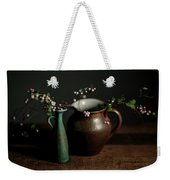 Still Life With Stoneware  Weekender Tote Bag