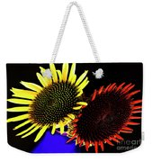 Still Life With Summer Flowers #1. Weekender Tote Bag
