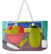 Still Life With Sunsed Weekender Tote Bag