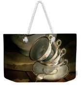 Still Life With Tea Set Weekender Tote Bag
