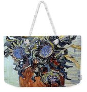 Still Life With Thistles Weekender Tote Bag by Vincent van Gogh