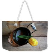 Still Life With Tulip Weekender Tote Bag