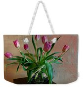 Still Life With Tulips Weekender Tote Bag