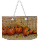 Still Life With Tomatoes Weekender Tote Bag