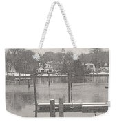 New England Peace Weekender Tote Bag
