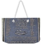 Still On Patrol Weekender Tote Bag