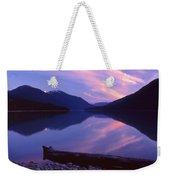 Stillness At Lillooet Lake  Weekender Tote Bag