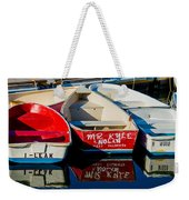 Stillness In The Bay Weekender Tote Bag