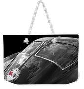 Stingray Split Window 1963 In Black And White Weekender Tote Bag