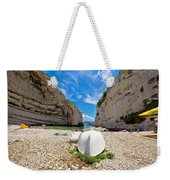 Stinva Bay Beach Summer View Weekender Tote Bag