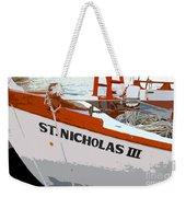 St.nicholas Three Weekender Tote Bag