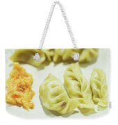 Stock Image For Momo Vegetable Dish India Weekender Tote Bag