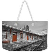 Stockbridge Train Station Weekender Tote Bag