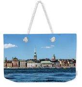 Stockholm From Lake Malaren Weekender Tote Bag